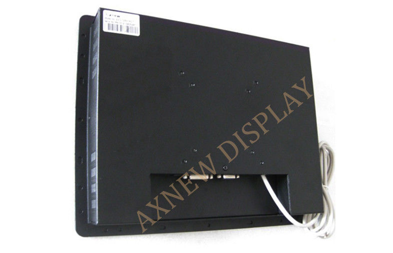 High Definition Wall Mounting 120/110 LCD Monitor , 4:3 Resistive Touch Screen