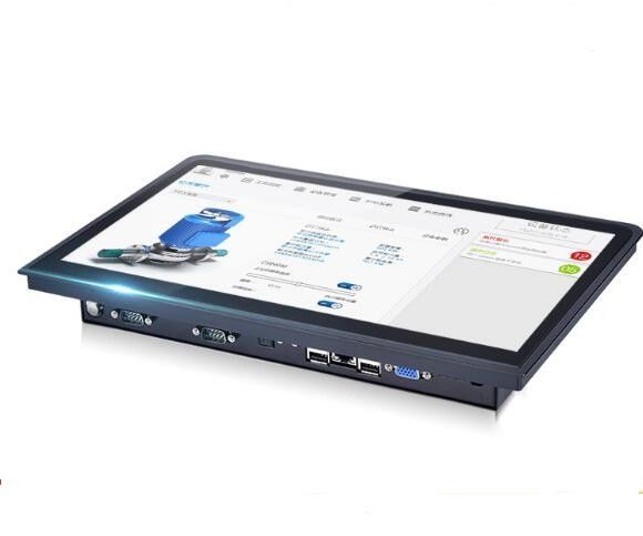 1600×900 Capacitive screen dual core Industrial Panel Pc mini slim computer Featured Image