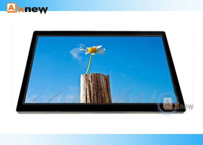 Flat Pro Capacitive Multi Touch Screen Monitor 24 Inch Rgb Super Viewing Angle