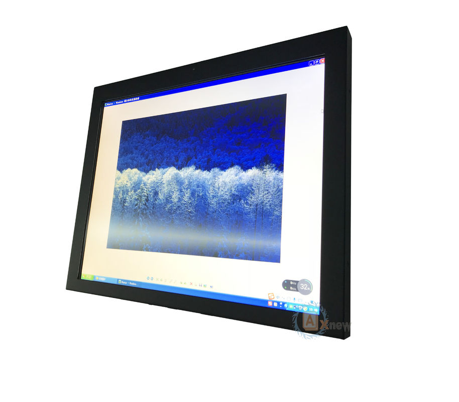 "Projected-capacitive Rugged  Custom Monitor 19"" High Brightness 1500nits with dimmer"