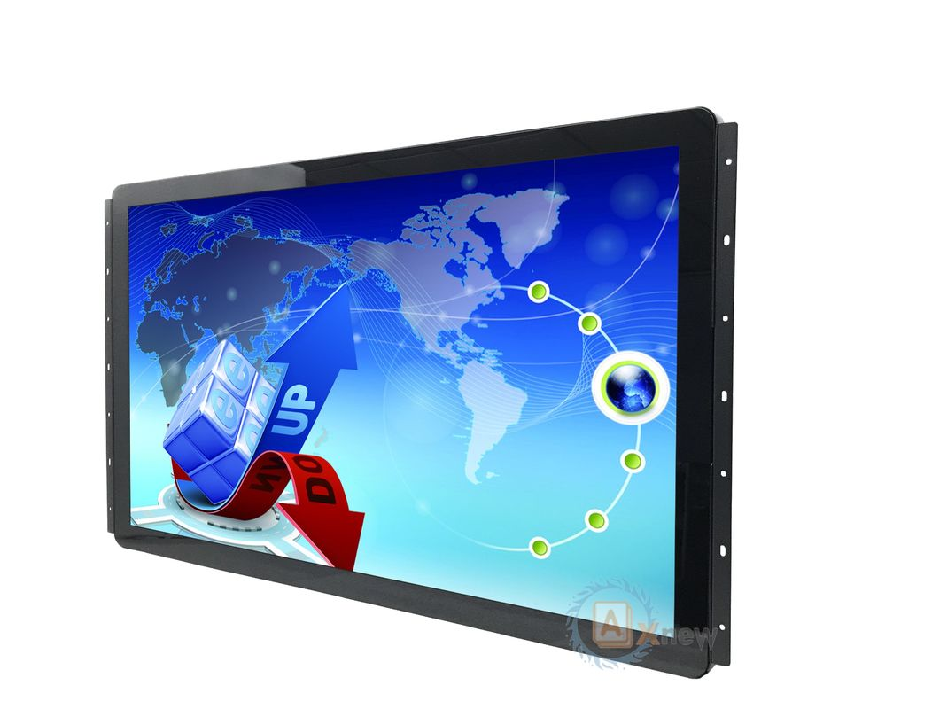 32 Inch Capacitive Touch Monitor  Multi-touch USB  Durable in Wide Temperature