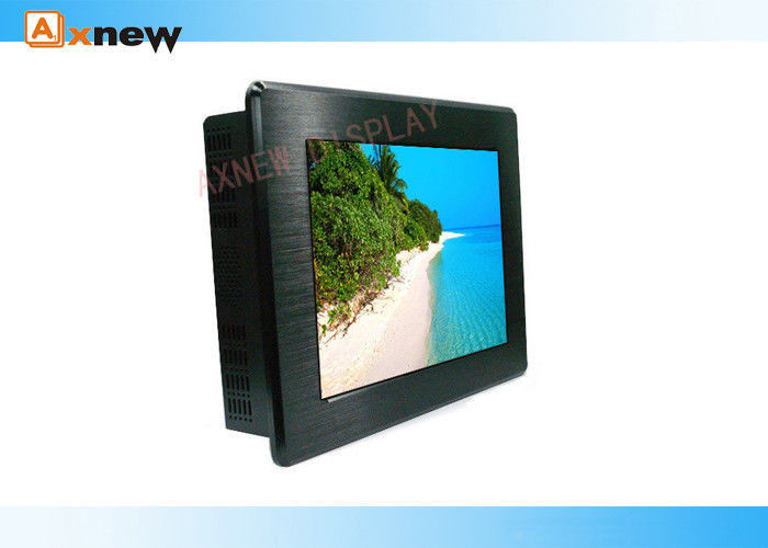 10.4'' HD Rugged Panel Mount Open Frame Touch Screen Monitor For Advertising Player