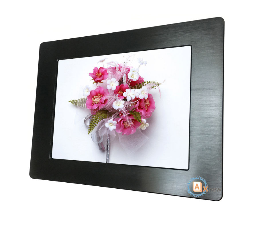 20.1 inch 1600X1200 HD 4/3 IP65 LCD Display Monitor High Brightness with Protective Glass