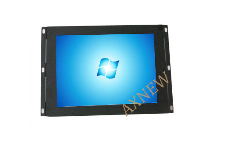 8inch Open Frame LCD Monitor AV / HDMI Input Rack Mount High Resolution