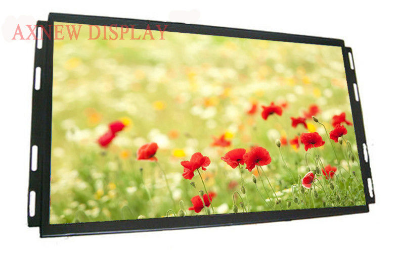High Brightness Outdoor LCD Monitor wide viewing angle For Digital Signage