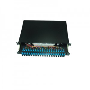 1U Fiber Optic Patch Panel