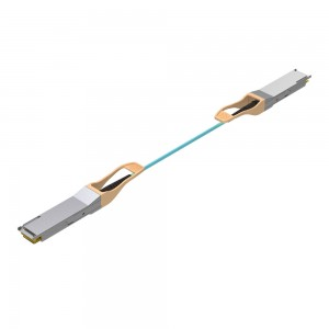 Factory making MPO SM MM OM4 Patchcords - 112G QSFP28 AOC – INTCERA