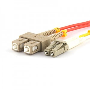 Factory directly supply Om3 Fiber Optic Patch Cord - Hybrid Patchcord SCPC-LCPC MM Duplex – INTCERA