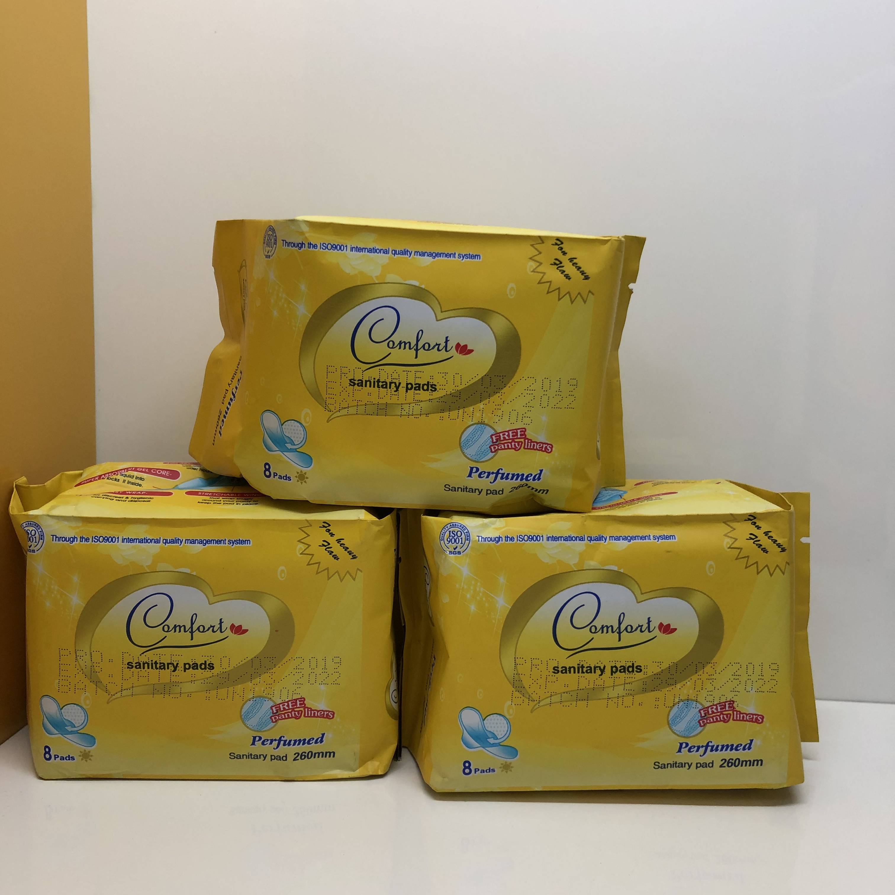 Professional China Private Label Panty Liners - Comfort Sanitary Napkin – Union Paper