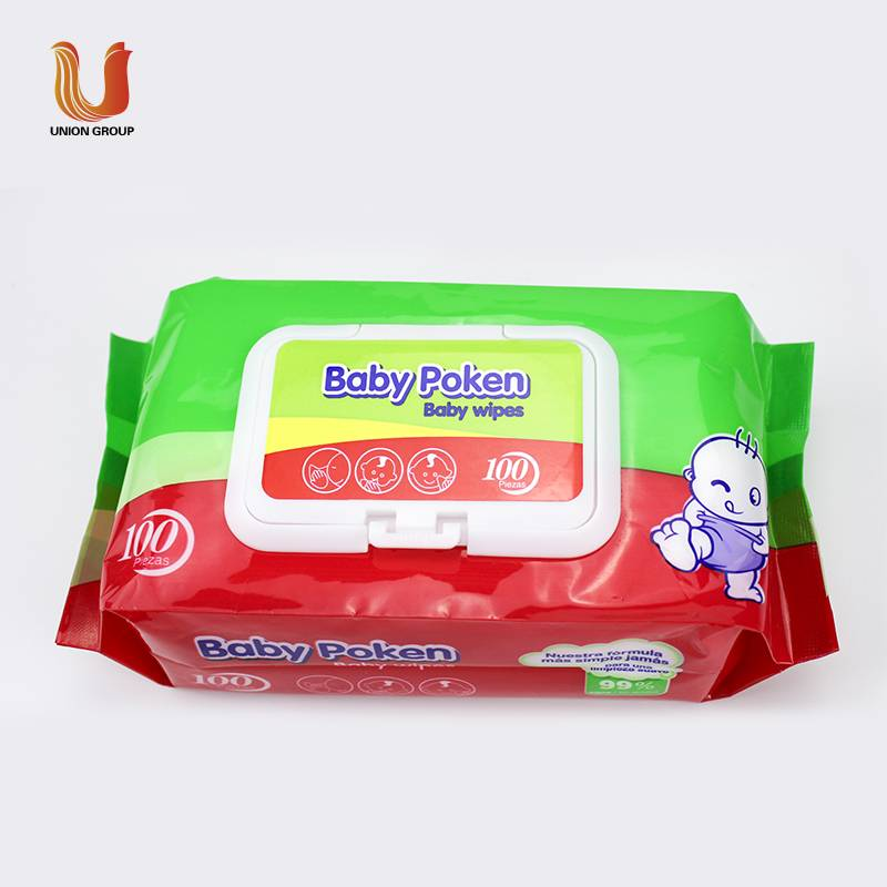 Baby wet tissue high quality softness  factory price from China