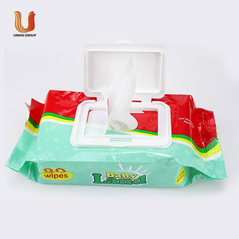 Hot sale disposable wet wipes for baby body cleaning