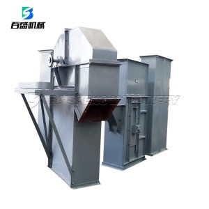 Baisheng Grain Feed mill food grade plastic bucket elevator Conveyor Belt Machine for sale