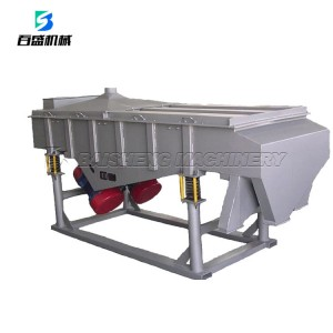 Chinese Manufacturer Vibrating Linear Screen With Best Price