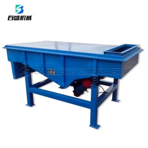 linear vibrating screen for particle/mining/silica sand