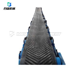 Baisheng Belt Conveyor System Slat Conveyor Belt Machine With Save Cost