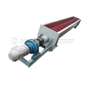 Hopper auger screw conveyor for Sludge price