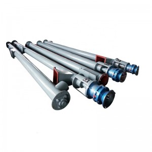 Xinxiang tubular concrete hopper auger small power screw conveyor machine  Overview
