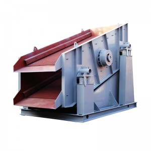 Factory price mobile circular vibrating screen for rock