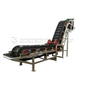 Sidewall pvc Cleated Belt Conveyor/Sidewall Belt Conveyor Price With High Quality