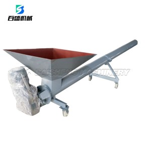 China Hot Sale Hopper Screw Conveyor/ Inclined Screw Hopper