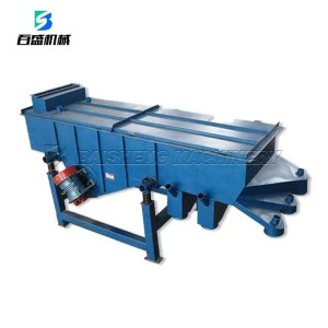 China sand linear vibrating sieve machine/sieving machine for the clay and stone