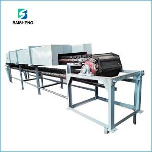 Apron chain conveyor for bulk material handling