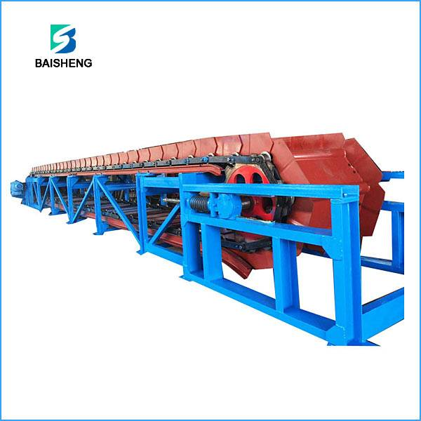 Apron chain conveyor for bulk material handling Featured Image
