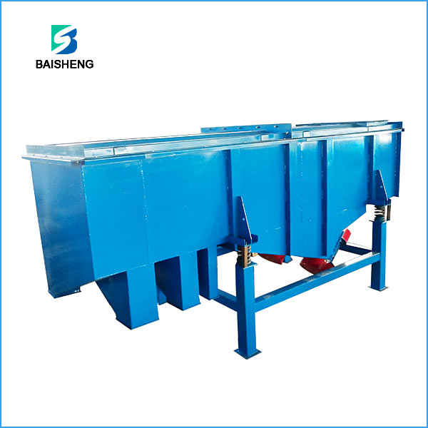 Linear vibrating screen for cement industry Featured Image