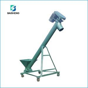 Mobile Powder screw conveyor machine for Sale