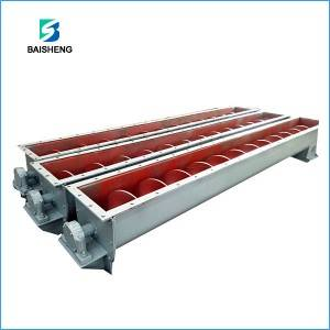 U type screw conveyor for Coal Powder / Cement Plant