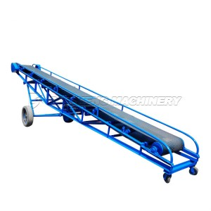China Concrete Conveyor Belt for Sale for 50kg Bags