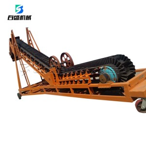 large dip and steep angle corrugate sidewall transmission conveyor belt price