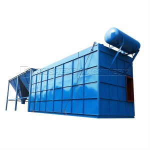Air box mechanical pulse dust collector bag filter,high pressure dust extractor
