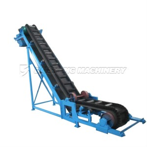 Corrugated Big Angle Sidewall Conveyor Belt Machine from China supplier