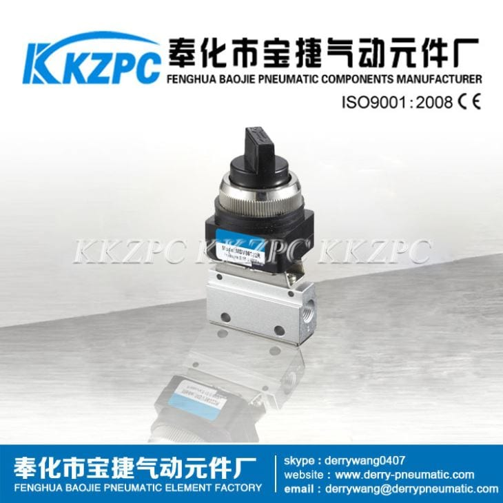 OEM/ODM China 24 Volt Air Solenoid - 3 Port Pneumatic Mechanical Valve MOV-01 – Baojie