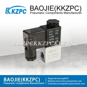 New Arrival China Air Regulator Filter Direction - 2V025-08 solenoid valve 2/2 way industrial valve – Baojie