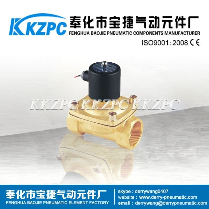 2W350-35 High Quality 22Way Material Solenoid Valve