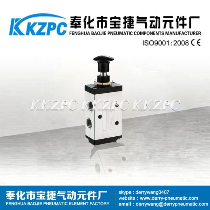 3R210-08 3/2 Way Pneumatic Hand-draw Valve