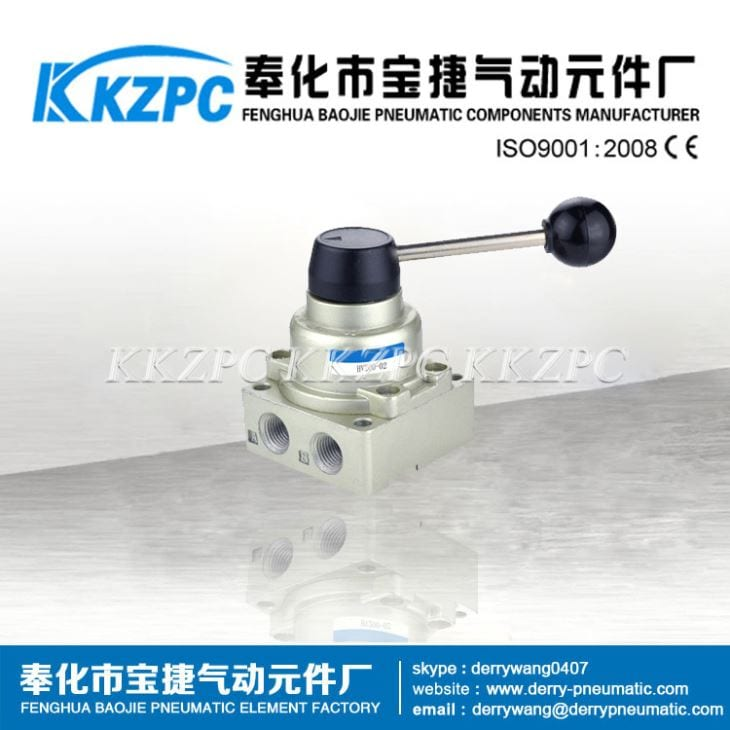HV200-02 Hand-switching 4 Way Valve /deadman Handle Valve