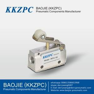 3 Way 2 Position Mechancial Valve 1/8 Roller MOV-02