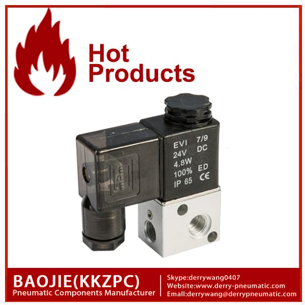 3V1-06 3 way solenoidklapile