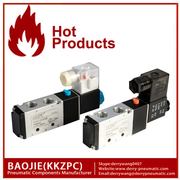 4V210-08 5 way solenoidklapile