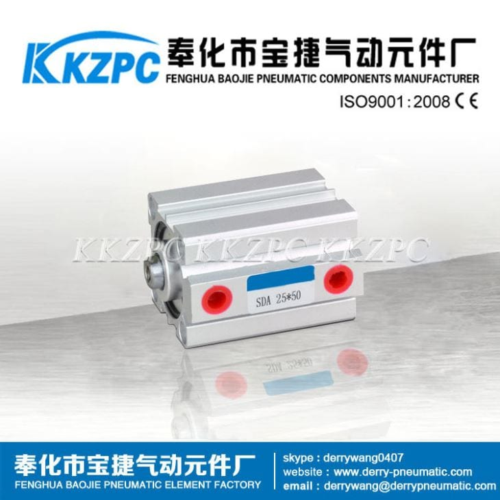 SDA Series Compact Air Cylinder Pneumatic Hydraulic Cylinder Manufacturer