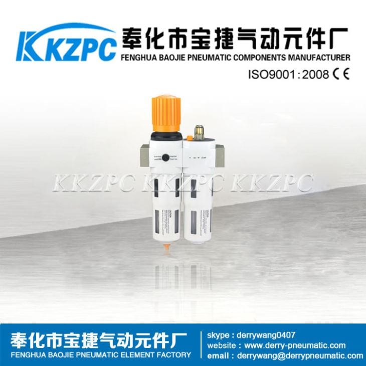Wholesale Dealers of Gas Solenoid Valve - Festo Filter Regulator Lubricator OU Series,G1/4 – Baojie detail pictures