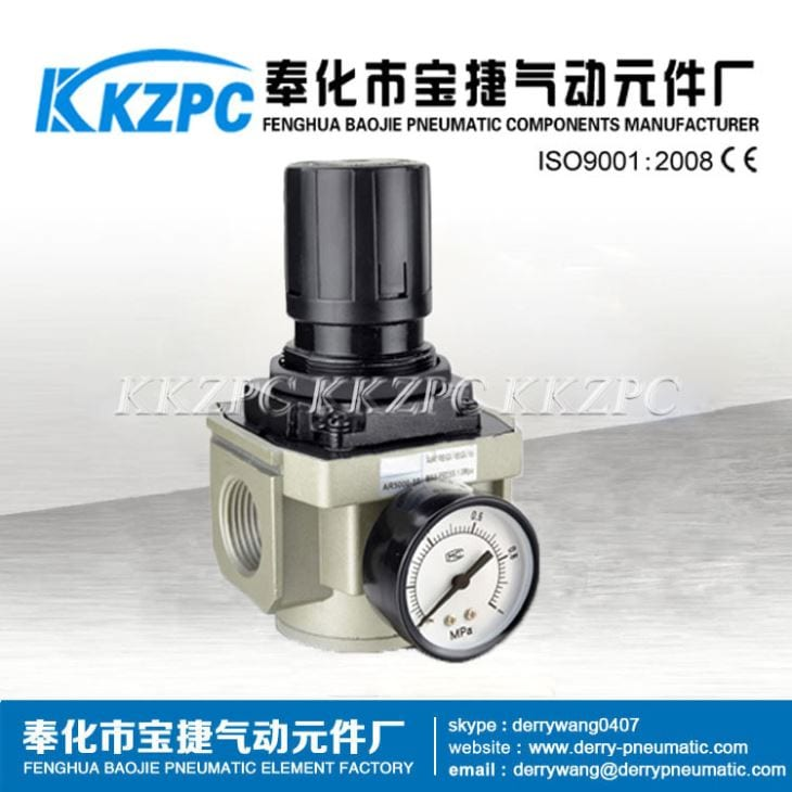 1 Inch AR5000-10 Air Pressure Regulator 100PSI