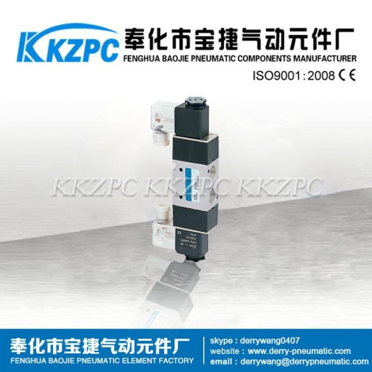Mini 3 Way Valve 3 Way Solenoid Valve 3V320-08
