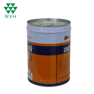 20L Metal Round Tin Can For Paint,Chemical Industrial Packaging