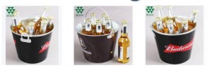Customize bar ice bucket for beer wine manufacturer from China