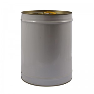 20L Metal Round Tin anogona For Paint, Chemical Industrial Packaging