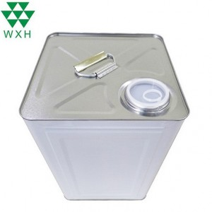 Leading Manufacturer for Rectangle Tin Container -